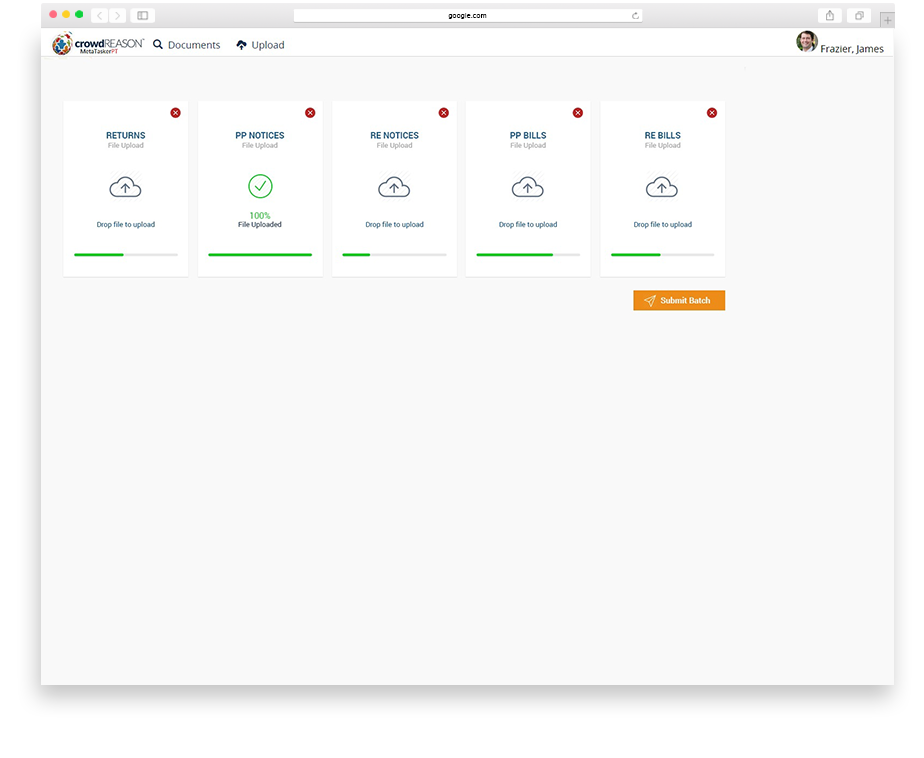 A simple workflow with trusted results