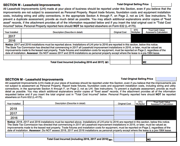 Michigan's Form L-4175